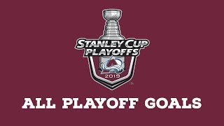 Colorado Avalanche | Every Goal from 2019 Playoffs