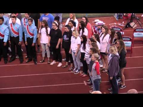 Southside High School Mixed Chorus & Alums 10-9-15