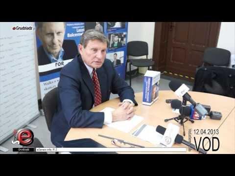 Leszek Balcerowicz odwiedził Grudziądz