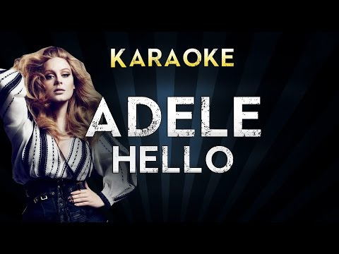 Adele - Hello | Official Karaoke Instrumental Lyrics Cover Sing Along