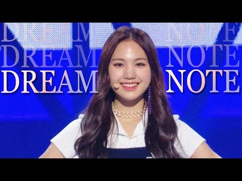 [HOT] DreamNote - DREAM NOTE , 드림노트 -  DREAM NOTE Show Music core 20181215