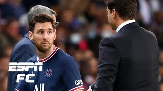 Lionel Messi upset by substitution in PSG vs. Lyon! Will it be a problem for Pochettino? | ESPN FC