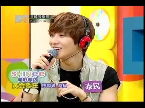 20120709 日韓音樂瘋 - 辰亦儒專訪SHINee Part2