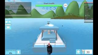 Lets Play SharkBite on roblox,with robert earl KILLING a massive megalodon!!
