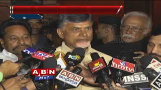 CM Chandrababu Naidu with Media after meeting with Arun Ja..