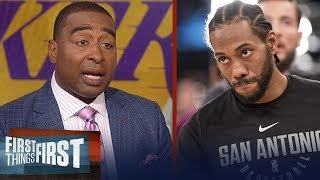 Cris Carter on the possibility of Kawhi Leonard playing for the Clippers | NBA | FIRST THINGS FIRST