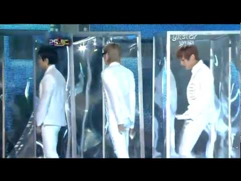 101209 Super Junior - Sorry Sorry + BONAMANA (Special Stage) @ Golden Disk Award