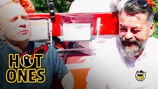 Chili Klaus and Sean Evans Eat the World's Hottest Pepper on the Carriage Ride From Hell   Hot Ones