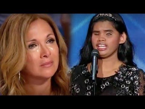 [Eng-Vietsub] Aliènette: Giọng hát thiên sứ của cô gái mù nghị lực khiến giám khảo khóc nghẹn ngào