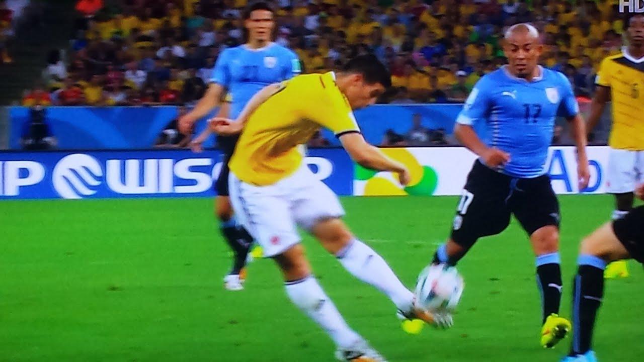 Colombia Vs Uruguay: COLOMBIA VS URUGUAY 2-0 WORLD CUP 2014 28th June