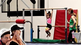 SPYING ON ELLE IN HER GYMNASTICS CLASS!!! **IN SHOCK**