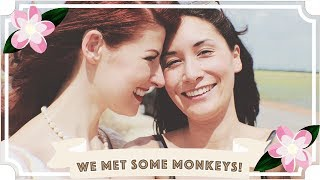 We Met Some Monkeys! // Jessie & Claud // Malaysia Travel Vlog