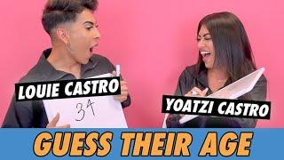 Louie vs Yoatzi Castro - Guess Their Age
