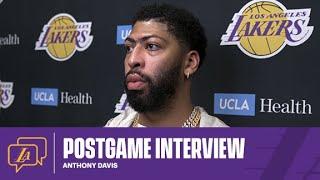 Lakers Postgame: Anthony Davis (01/18/21)