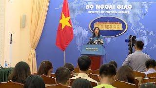 Họp báo thường kỳ Bộ Ngoại giao (20-9-2018)
