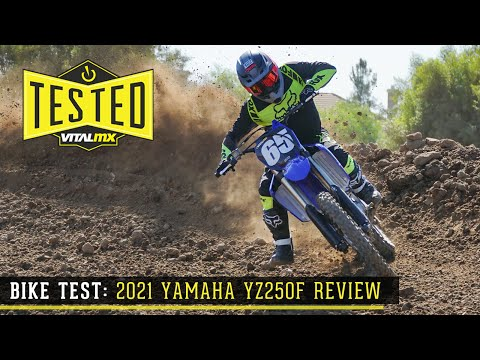 Americas view of the 2021 Yamaha 250f