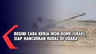 Begini Cara Kerja Iron Dome Israel yang Siap Hancurkan Rudal di Udara