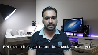 BOI internet banking first time login/Bank of india login [Urdu/Hindi]