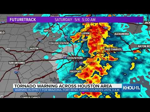WEATHER UPDATE: David Paul KHOU has the latest on storms, flood threats