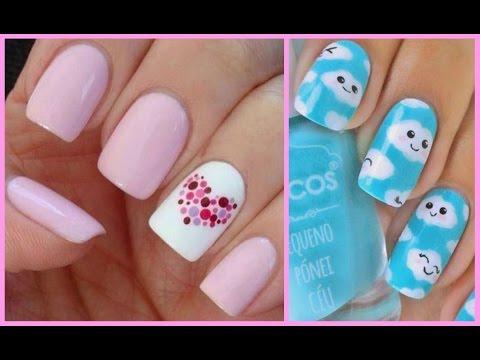 Decoración de uñas bonitas, fáciles y rápidas ♡