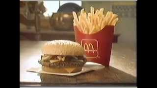 1984 McDonald's Quarter Pounder Commercial