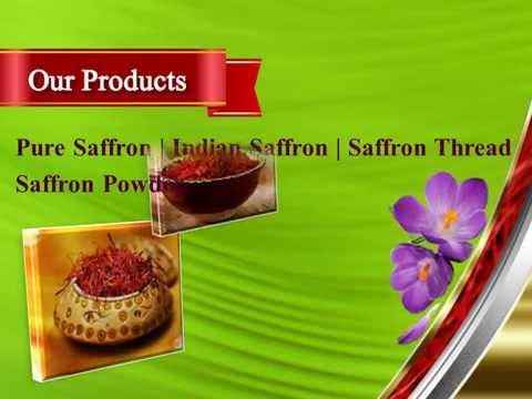 Desi Leaf - 100% Pure Saffron, Silver Varak