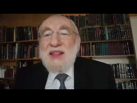 Le Grand Rabbin de Paris Michel Gugenheim s'adresse à la communauté juive