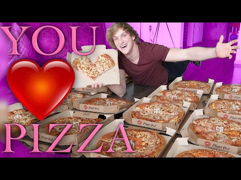 VALENTINE'S DAY - GIVING PIZZAS TO THE HOMELESS!