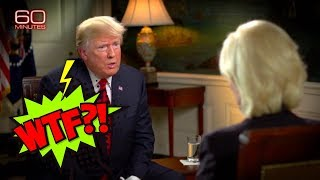Breakdown of Trump's Unintentionally Hilarious, Unhinged 60 Minutes Interview