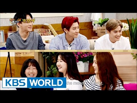 Trusty young Idols VS Trusty young Actors  [Happy Together/2016.07.14]