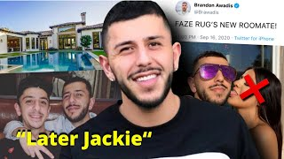 Brawadis MOVES IN With Faze Rug After Being HEART BROKEN By Jackie Figueroa!