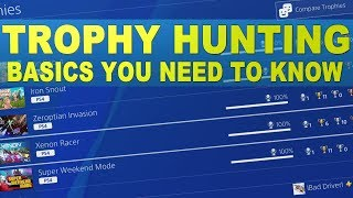 Playstation Trophy Hunting Basics   Trophy Level - Stacking - Multiple Accounts - Different Regions