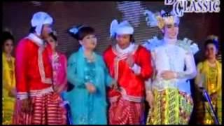 Myanmar Movie Anyeint အၿငိမ့္ 2 Chan Nyi Chan,Khin Hlaine,Dang Dong