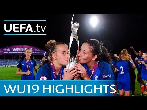 Women's Under-19 final highlights: France 2-1 Spain