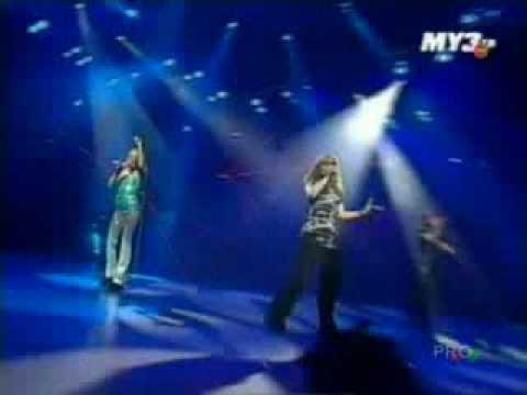 Блестящие - Облака (Live МУЗ ТВ)