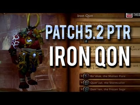 Iron Qon Guide Boss Throne of Thunder
