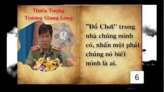10 câu nói ấn tượng của Thiếu tướng Trương Giang Long [hay nhất câu thứ 6 ]