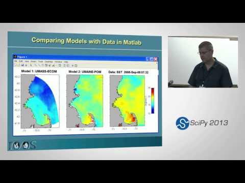 Image from Advances in delivery and access tools for coastal ocean model data; SciPy 2013 Presentation
