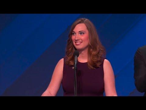 HRC's Sarah McBride addresses the 2016 Democratic National Convention