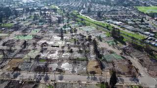 WILDFIRE AFTERMATH: Coffey Park Neighborhood of Santa Rosa, California