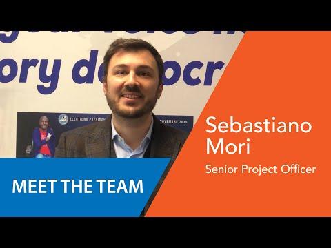 Sebastiano Mori - Senior Project Officer