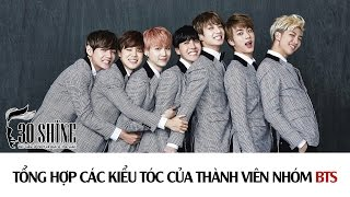 30Shine TV   Tuyển tập 7 kiểu tóc thành viên nhóm BTS