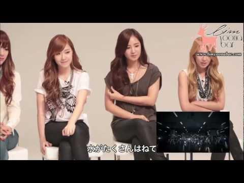【中字】少女時代看自己MV的反應 SNSD reaction to their own music videos