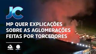 MP quer explicações sobre as aglomerações feitas por torcedores do Fortaleza