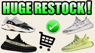 Huge YEEZY RESTOCK Coming FALL 2018 ! | Sell Or Hold Pairs ?!