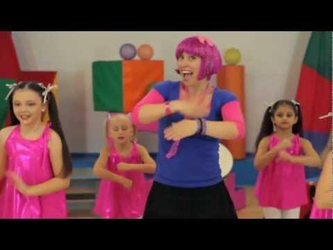 Debbie Doo Dance Song For Kids - Roll Your Hands - With Dance School