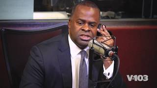 Mayor Reed Endorses Keisha Lance Bottoms! : Live In Studio V-103