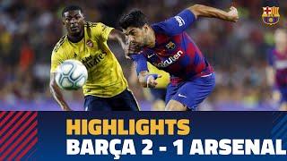 HIGHLIGHTS | FC Barcelona – Arsenal (2-1) | Gamper Trophy