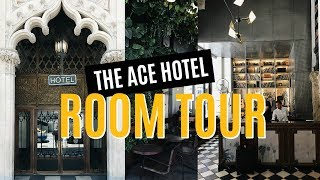 ACE HOTEL ROOM TOUR (Downtown Los Angeles)