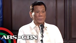 President Duterte talks to reporters after delivering SONA | 22 July 2019